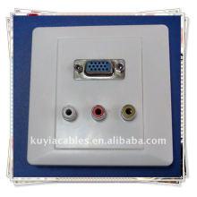 VGA 3AV Компонентный композитный видеостенный планшет
