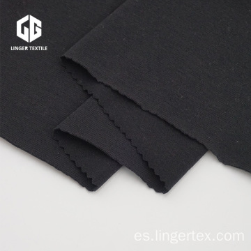 CVC Elastane Knitted Fabric Skin-Friendly para la ropa