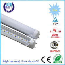DLC cUL TUV Marca alta luz 110lm / w 22W lm79 tubo de luz led