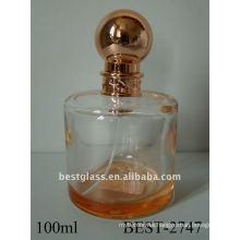 100ml cylindrical spray perfume bottle