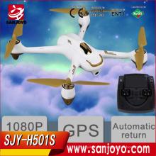 Высокое качество hubsan х4 H501S fpv Дрон RC горючего с 1080p камера GPS следуй за мной Дронов