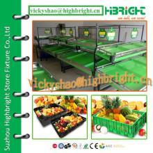 Metall-Obst- und Gemüse-Display-Rack