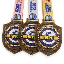 Médaille Marathon Sport Logo Personnalisé