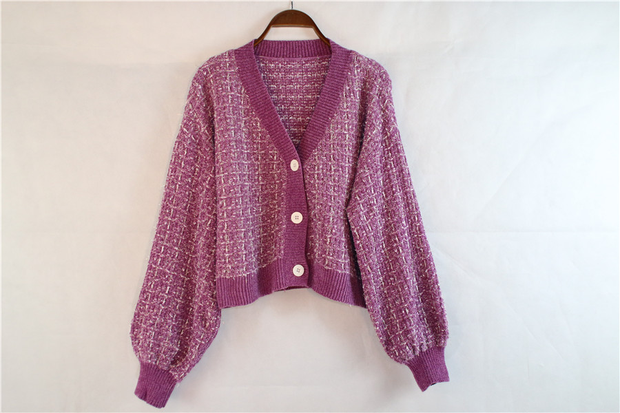 OEM Fashion Knit Long Sleeve Cardigan