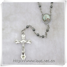 Pope Francis Rosary with Plastic Small Beads (IO-cr384)
