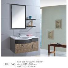 Gabinete de banheiro de parede de aço inoxidável espelhado com design moderno com CE