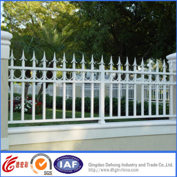 Deluxe Exterior Wrought Iron Residential Fence