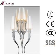 New Design Hotel Deorative ABS Horn Shape Pendant Lamp
