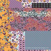 Digital-Blumen-Druck-weicher Stoff (TLD-0061)