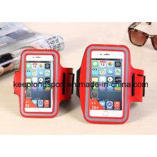 Boîtier de téléphone portable en néoprène et en PVC à la mode de couleur rouge 3 mm