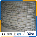 Galvanized wire mesh for fence with stones, gobion box