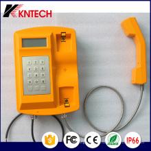 Téléphone étanche Téléphone SIP (Knsp-18) Kntech