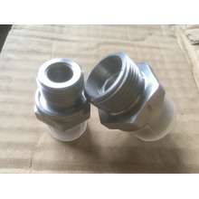 Bsp Male 60 ° Assento / O-Ring Seal Adaptador de extremidade dupla-Britânico