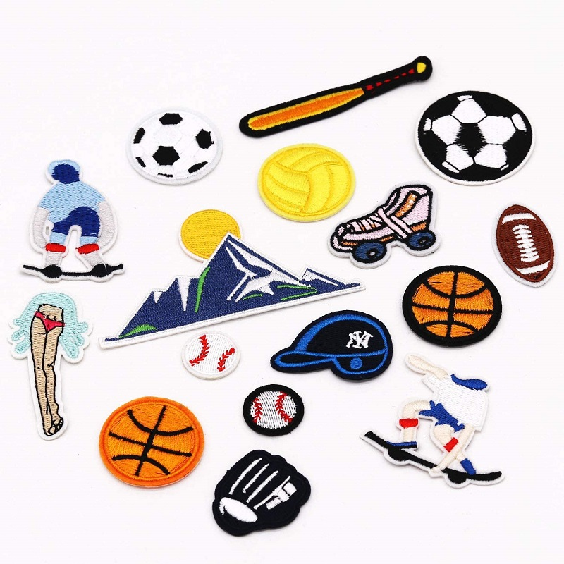 Soccer Embroidery Patches