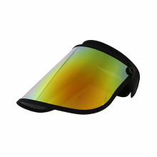 Sun visor shield with UV ray block