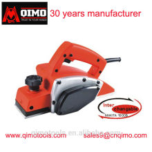 china electric wood planer 82mm 610w 23000rpm