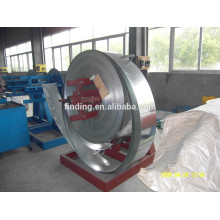 Low price China manual decoiler machine for steel coil