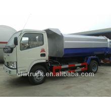 Dongfeng 5000litres гидравлический подъемник мусоровоз