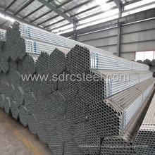 Предварительно оцинкованные стальные трубы ERW для строительства
