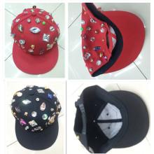 Moda cool remache studed moda snapback gorra deportiva gorra