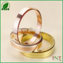Liga de metais preciosos prata inlay tira de bronze