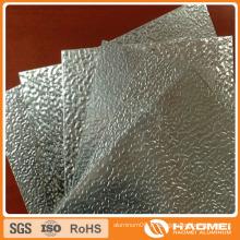 Feuille en aluminium gaufré peint en stuc pour toiture