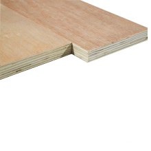 Cheaper 3MM Commercial Plywood with Red hardwood Face
