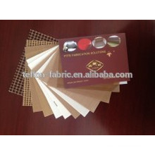 Free samples heat resistant non-sticky PTFE coated glass fabric