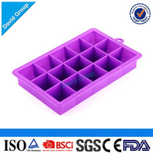 Lovely Rectangle Shaped Silicone Ice Tray