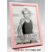 Oval Plastic Glass Photo Frame