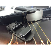 Leather Belts for Men in Black (RF-160501)