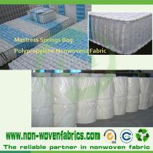 Tissu non-tissé de Spunbond pour le tissu de tapisserie d'ameublement de matelas