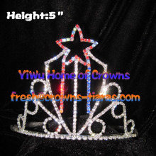 5inch Colorful Star Pageant Crowns
