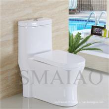 Toilettes sanitaires de haute qualité Chaozhou Siphonic One Piece Toilet (8105)