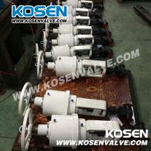 Geschmiedete Stahlkugelventile mit elektrischem Antrieb (J961H)