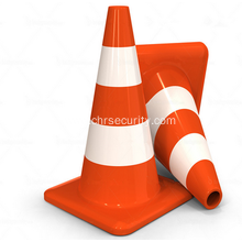 Colored Flexible Collapsible PVC Traffic Cone