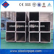 Alta demanda de produtos de exportação de aço inoxidável soldado tubo quadrado