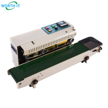 Mini Packing Sealing machine vertical band sealer for Food Business of Retail packing