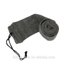 "Tourbon Hunting Gun Accessories 54"" Gun Sock for Rifle Shotgun Polyester treated with Silicone Gun Case Sleeve Grey"