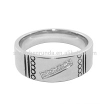 Wholesale Finger Rings for Men Stainless Steel Jewelry with Engrave Logo