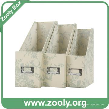 Картонный файловый держатель Журнал File Box Desktop File Holder