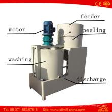 Semillas de sésamo Peeling Hulling Washing Machine Sesame Peeler