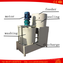 Descascador de lavagem da semente de sésamo da qualidade superior descascando a máquina de descascamento