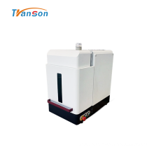 Marcador a laser de fibra de 20 W para invólucro plástico metálico