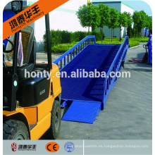Equipo de carga y descarga de nivelador de rampa de muelle de contenedores hidráulicos