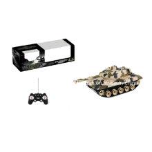 R / C Battle Tank (sem bateria incluída) Militar Toy plástico