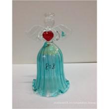 Navidad que entrega las campanas decorativas del vidrio