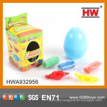 Alta qualidade dinossauro ovo plastilina modelagem clay brinquedo