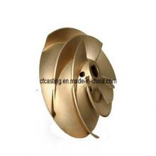 Customized Wachsausschmelzverfahren Bronze Casting für Impeller