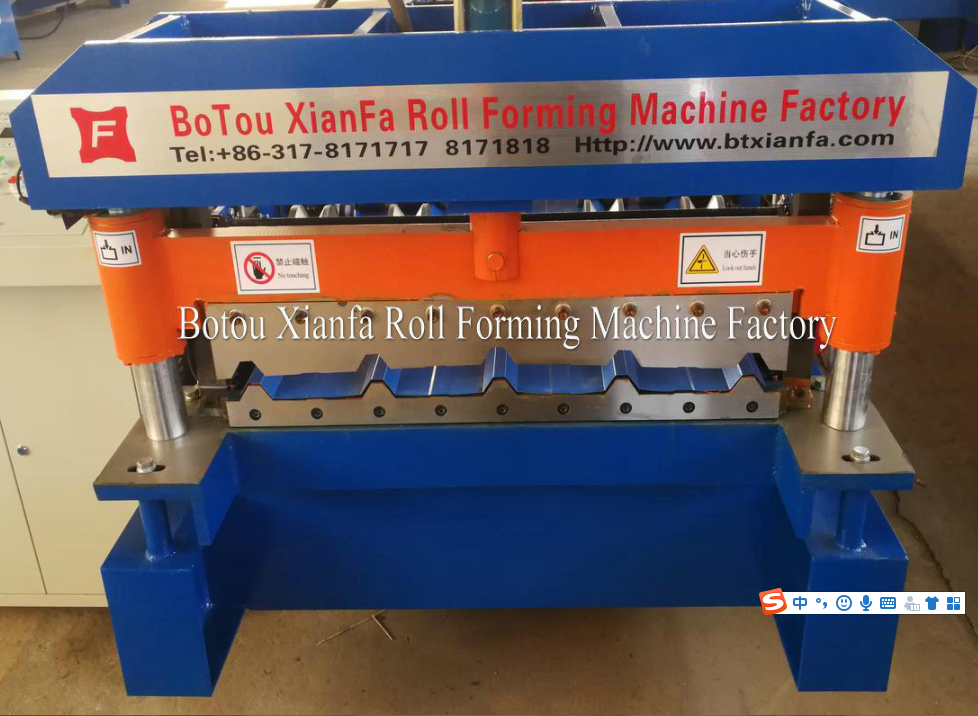 ibr metal roofing machine